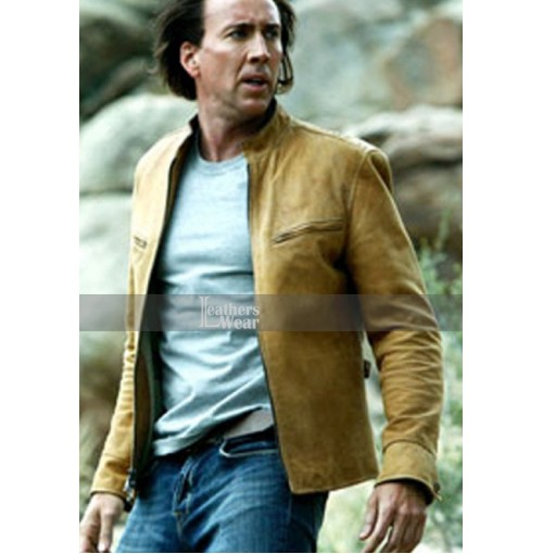 Next Movie Nicolas Cage (Cris Johnson) Jacket