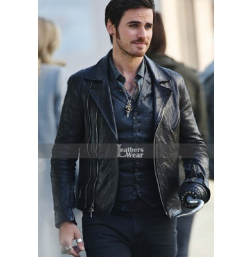 Captain Hook Once Upon Time Colin Jacket