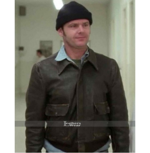 One Flew Over Cuckoo's Nest McMurphy Leather Jacket