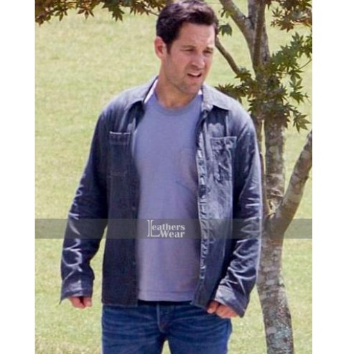 Paul Rudd Black Jacket From Avengers Infinity War