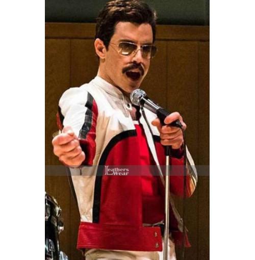 Rami Malek Bohemian Rhapsody Leather Jacket
