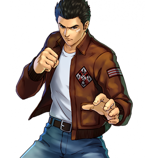 Shenmue Ryo Hazuki Brown Leather Jacket