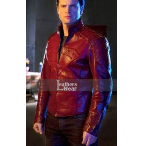 Smallville Tom Welling Superman Red Jacket