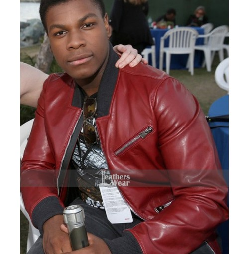 Star Wars 2015 John Boyega (Finn) Bomber Jacket