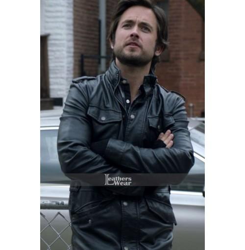 Justin Chatwin Shameless (Steve) Leather Jacket