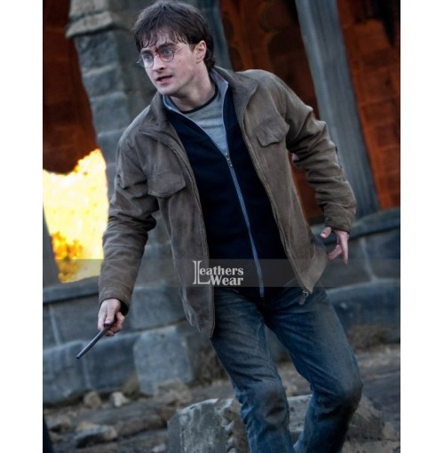 The Deathly Hallows Part 2 Daniel Radcliffe (Harry Potter) Jacket