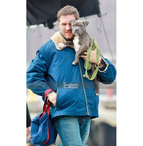 The Drop Tom Hardy (Bob Saginowski) Fur Jacket