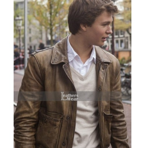 Fault In Our Stars Ansel Elgort (Augustus) Jacket