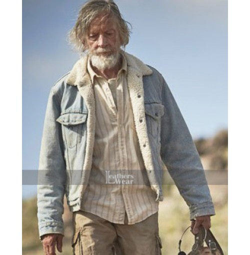 The Leftovers Scott Glenn Denim Jacket