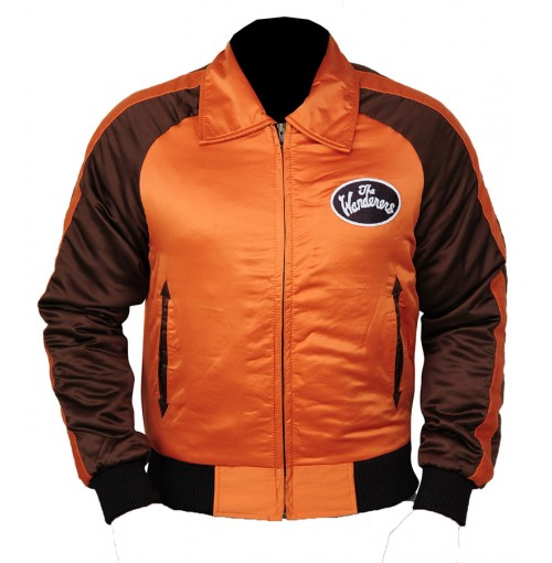 The Wanderers Ken Wahl Varsity Satin Jacket