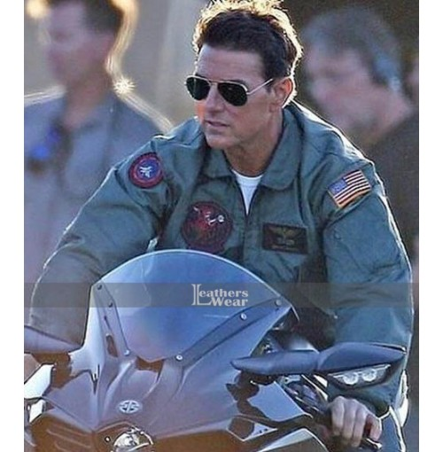 Tom Cruise Top Gun 2 Maverick Bomber Jacket