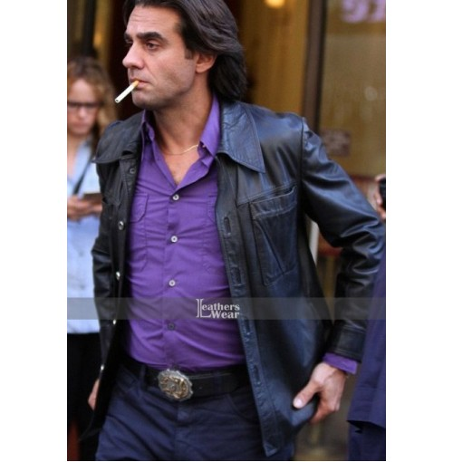 Vinyl Richie Finestra (Bobby Cannavale) Black Jacket