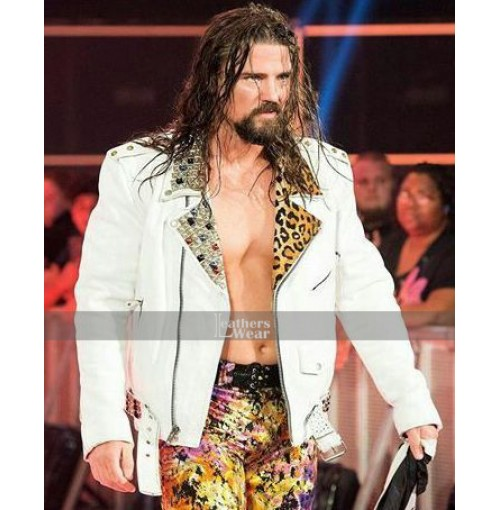 WWE Brian Kendrick RAW Leather Jacket