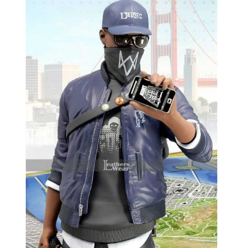 Watch Dogs 2 New Game Marcus Holloway Jacket