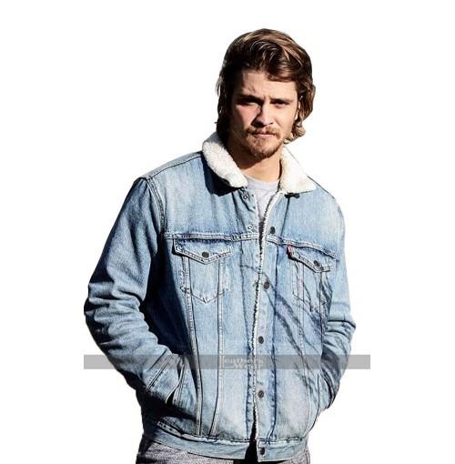 Luke Grimes Yellowstone Kayce Dutton Denim Jacket