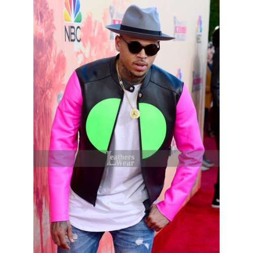 2015 iHeartRadio Music Awards Chris Brown Jacket