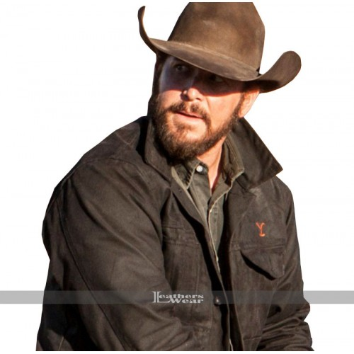 Rip Wheeler Yellowstone Cole Hauser Black Jacket