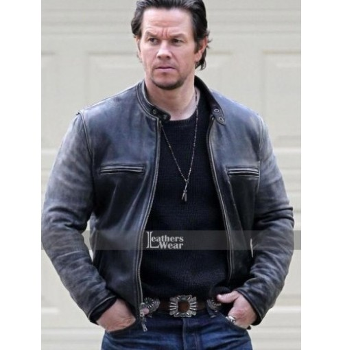 Daddy's Home Mark Wahlberg (Dusty) Distressed Jacket