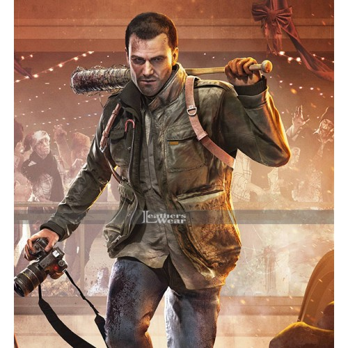 Dead Rising 4 Game Frank West Leather Jacket