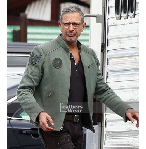 Jeff Goldblum Independence Day 2 Green Jacket