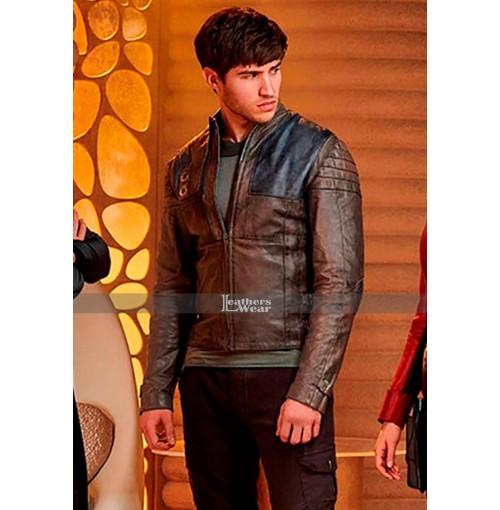Seyg El Krypton Cameron Cuffe Brown Leather Jacket