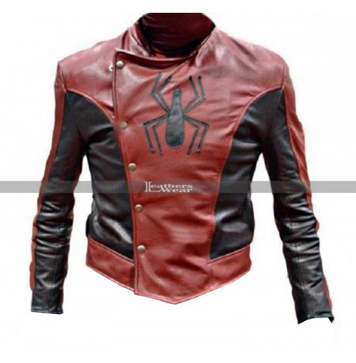 Last Stand Spiderman Peter Parker Leather Jacket