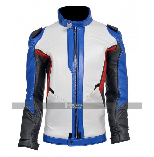 Overwatch Game Soldier 76 Leather Jacket