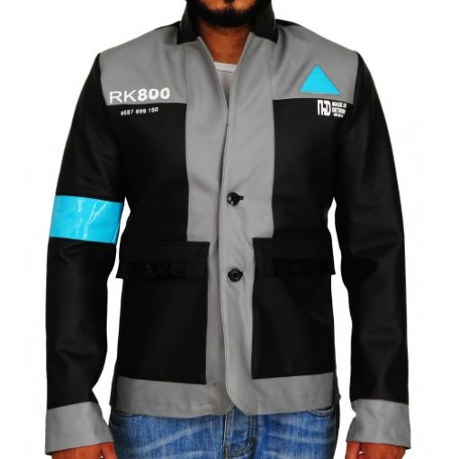 Detroit Become Human Connor Leather Jacket