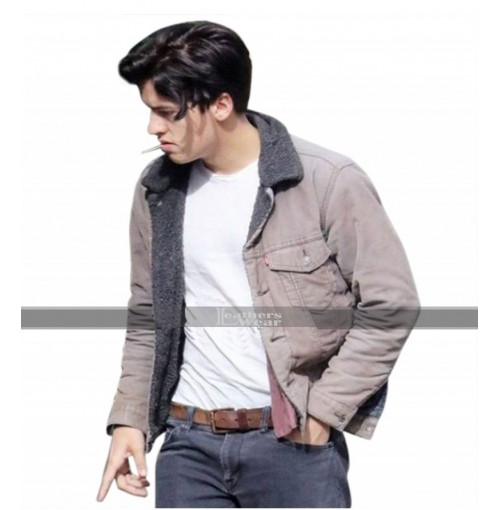 Riverdale Jughead Jones (Cole Sprouse) Fur Collor Jacket