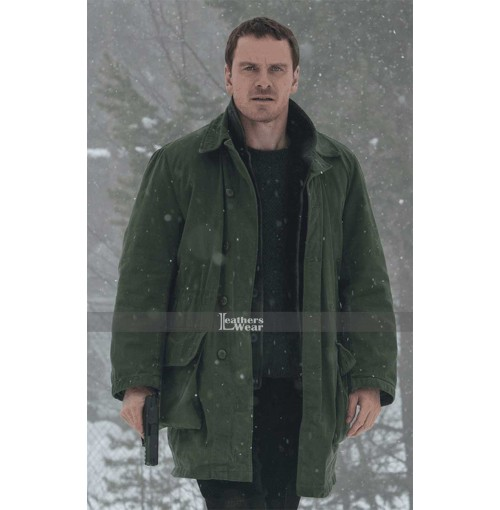 The Snowman Michael Fassbender (Harry Hole) Cotton Jacket Coat