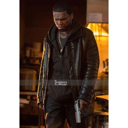 The kanan Tape 50 Cent Fur Jacket Coat