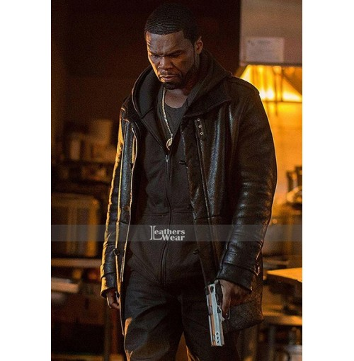 The kanan Tape 50 Cent Fur Jacket Coat