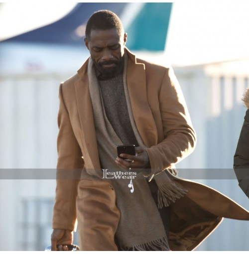 Ben Bass Mountain Between Us Idris Elba Brown Coat