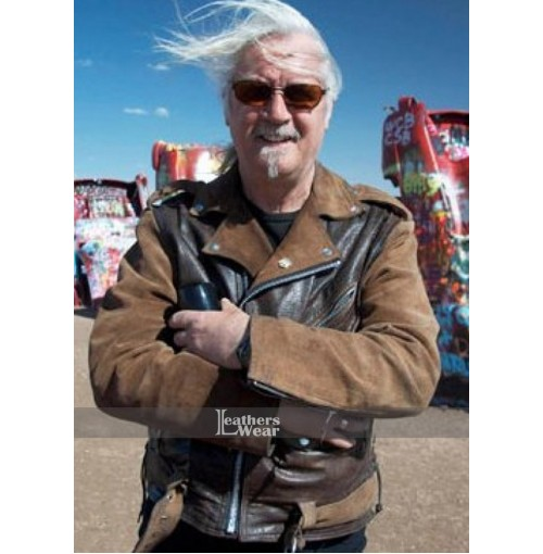 Billy Connolly's Route 66 Motorcycle Leather Jacket