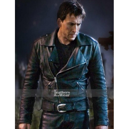 Ghost Rider Nicolas Cage (Johnny Blaze) Biker Jacket