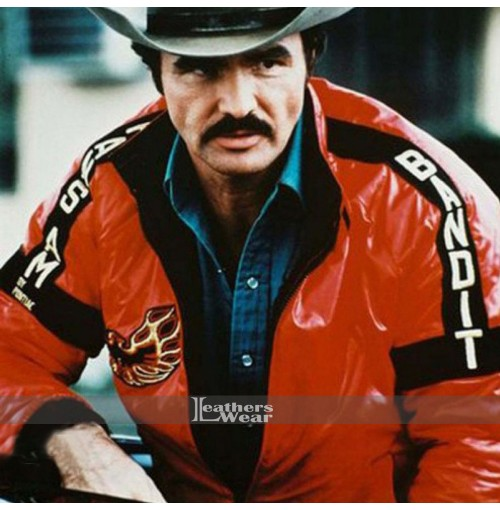 Smokey and the Bandit Burt Reynolds Red Jacket