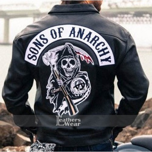 Sons Of Anarchy Charlie Hunnam Jax Teller Leather Jacket