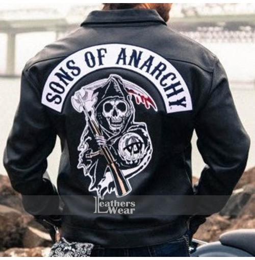 Sons Of Anarchy Charlie Hunnam (Jax Teller) Leather Jacket