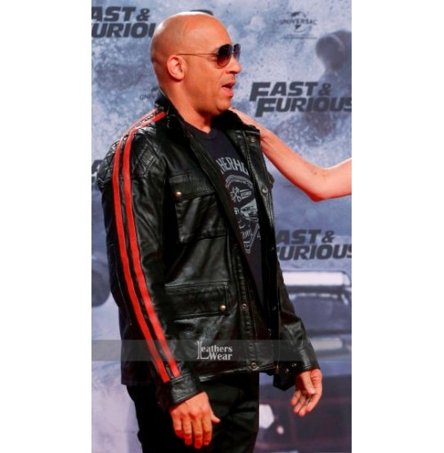 Fate Of The Furious 8 Berlin Premiere Vin Diesel Jacket