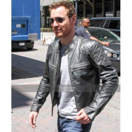 X-Men Apocalypse Michael Fassbender Leather Jacket