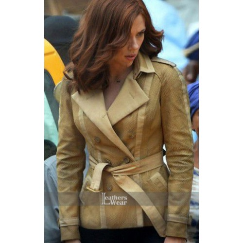 Captain America Civil War Scarlett Johansson Jacket