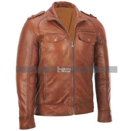 Mens Bomber Rider Slim Fit Casual Stylish Jacket