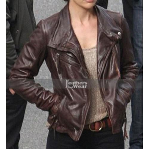 Almost Human Minka Kelly (Valerie Stahl) Leather Jacket