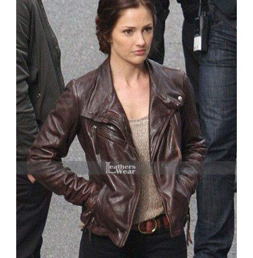 Almost Human Minka Kelly (Valerie Stahl) Leather Jacket