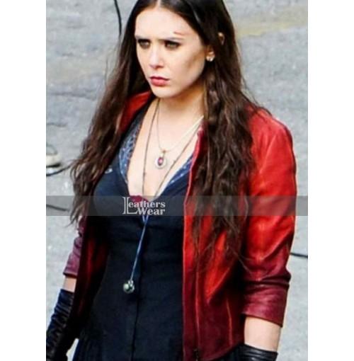 Avengers Age Of Ultron Elizabeth Olsen (Wanda Maximoff) Jacket