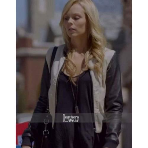 Bitten Laura Vandervoort (Elena Michaels) Bomber Jacket