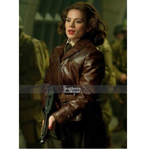 Captain America Hayley Atwell (Peggy Carter) Jacket