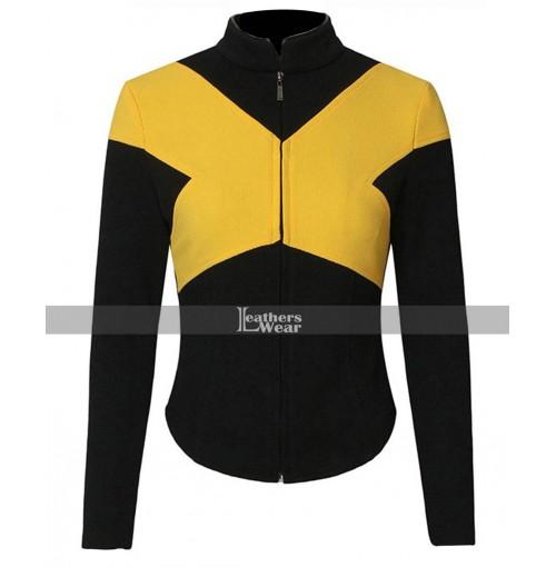 Dark Phoenix X-Men Blue and Yellow Jacket