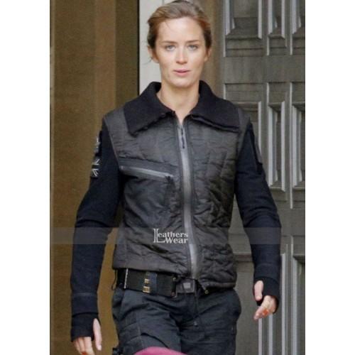 Edge Of Tomorrow Emily Blunt (Rita Vrataski) Leather Jacket