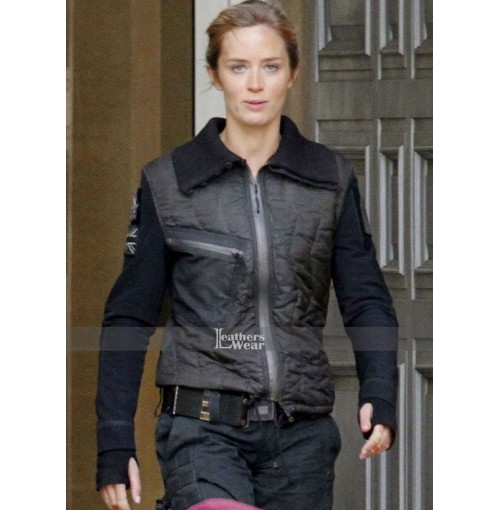 Edge Of Tomorrow Emily Blunt (Rita Vrataski) Leather Jacket